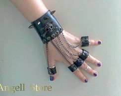 Bracelete Punk Rock Dark Angel