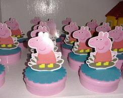 Latinha Mint To be 3D Festa Peppa Pig