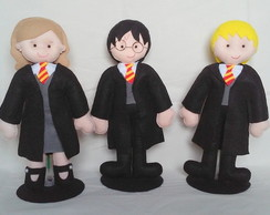 Harry Potter, Rony e Hermione