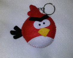 Chaveiro Angry birds- Red
