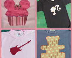 Kit body / camiseta infantil