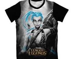 Camiseta League of Legends - Jinx