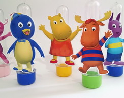 Tubete 3d Backyardigans