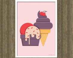 Poster Sweet Arte Digital A4