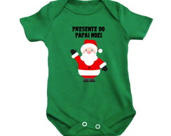 Body OU Camiseta Presente do Papai Noel