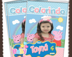 Revista de colorir Peppa Pig ARTE