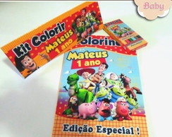 kit colorir Toy Story