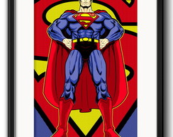 Quadro Superman com Paspatur
