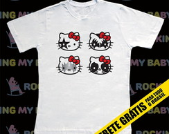 Camiseta Infantil Hello Kitty Kiss