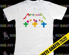 Camiseta Infantil Metallica Master of...