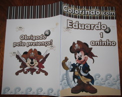 Revista Mickey Pirata 14x10