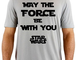 Camiseta Star Wars May The Force be With