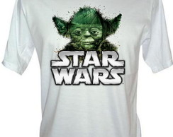 Camiseta Star Wars Mestre Yoda
