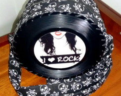 Bolsa de Disco I Love Rock