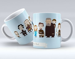 Caneca - GOT / Stark cartoon