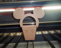 Cachepot do Mickey em MDF 3mm