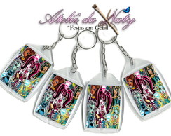 Chaveiro Personalizado - Monster High