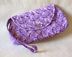 Mini Clutch Bella Floral Roxa