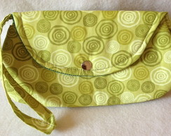 Mini Clutch Bella Alvos Verdes