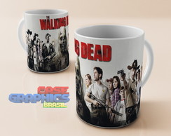 Caneca louça THE WALKING DEAD 3