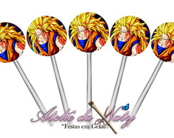 Toppers para Cupcake - Dragon Ball