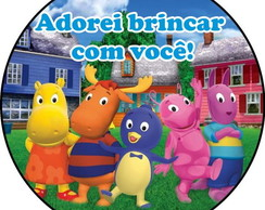 Rótulo Tag Backyardigans