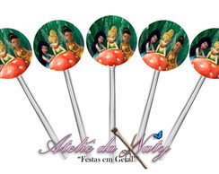 Toppers para Cupcake - Tinkerbell