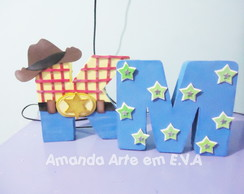 Letra 3d Toy Story