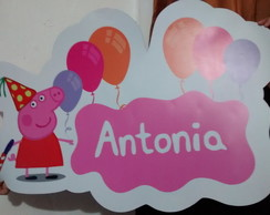 Painel PVC Peppa pig