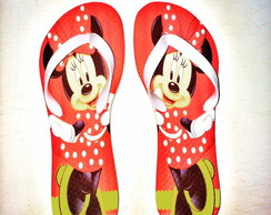 Chinelo Flat Minnie