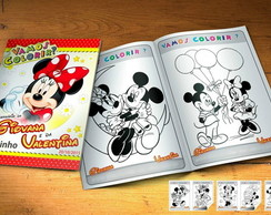 Revistinha de Colorir Minnie Vermelha