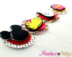 Topper para Cupcake Scrapbook do Mickey