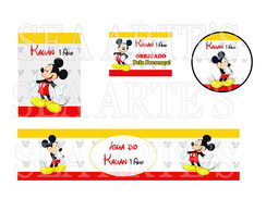 Kit Festa Digital - Mickey Mouse
