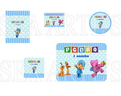 Arte Kit Digital - Pocoyo