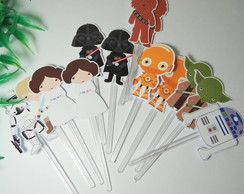 Topper para doces Star Wars