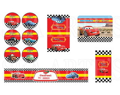 Arte Kit Digital - Carros Disney