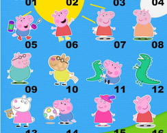 Kit Recorte / Aplique Turma Peppa Pig