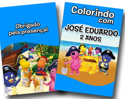 Revista Backyardigans Pirata 14x10