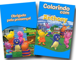 Revista Colorir Backyardigans 14x10