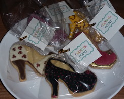 Cookies decorados - Sapatos