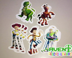 Kit com 20 Apliques do tema Toy Story
