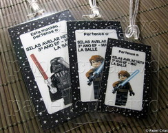 Kit 3 Bagtags - Lego Star Wars