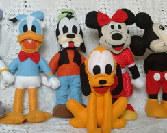 Turma do Mickey (6 bonecos)