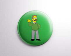 Botton -Símpsons - Ned Flanders