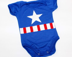 Body Super Herói - Capitao America