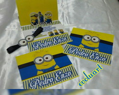 Convite Pop up minions