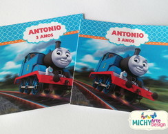 Rótulo Para Tubetes - Thomas and Friends