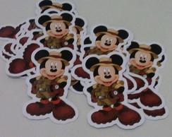 Recorte Mickey Safari
