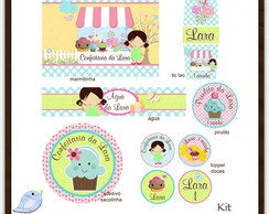 Kit digital Confeitaria | para imprimir