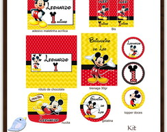 Kit digital Mickey | para imprimir